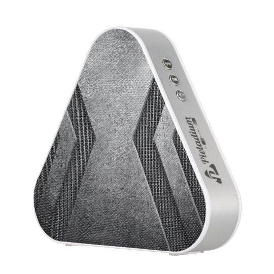 Grey Metal design bluetooth speaker