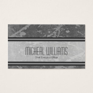 Ceo business cards business card printing zazzle uk grey modern ceo company business cards colourmoves Choice Image