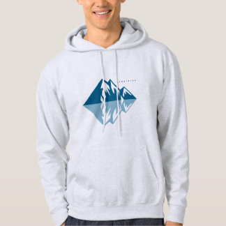 Grey Moletom clearly Mountains Hoodie