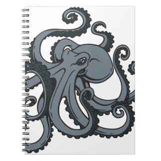 Grey Octopus Notebooks