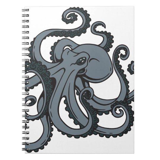 Grey Octopus Notebooks