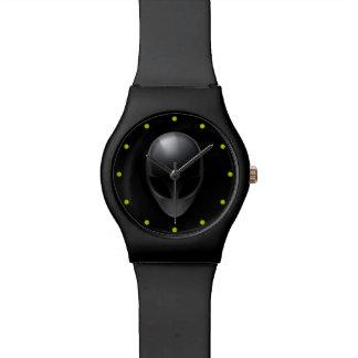 Grey on Black Watch