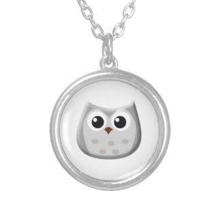 Grey Owl Necklace