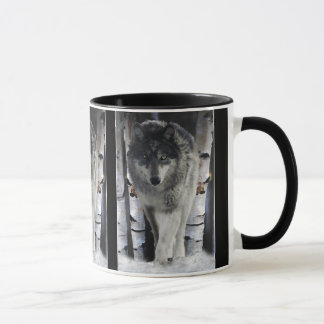 GREY PACK WOLF Wildlife Gift Mugs