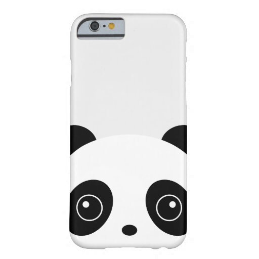 Grey Panda iPhone Case