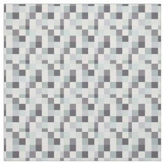 Grey Pixelated Pattern | Gamer Fabric