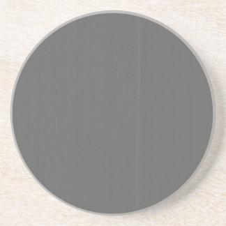 Grey Plain Blank DIY Template add text quote photo Coaster