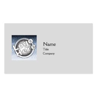 Grey Plain - Business Business Card Templates
