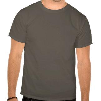 Grey Print Tuxedo Tee Shirt