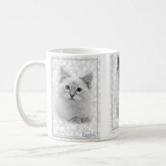 grey ragdoll mug