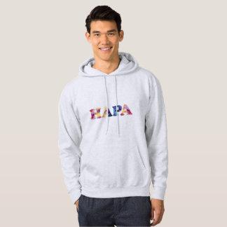 Grey Rainbow Hapa Men's Sweatshirt