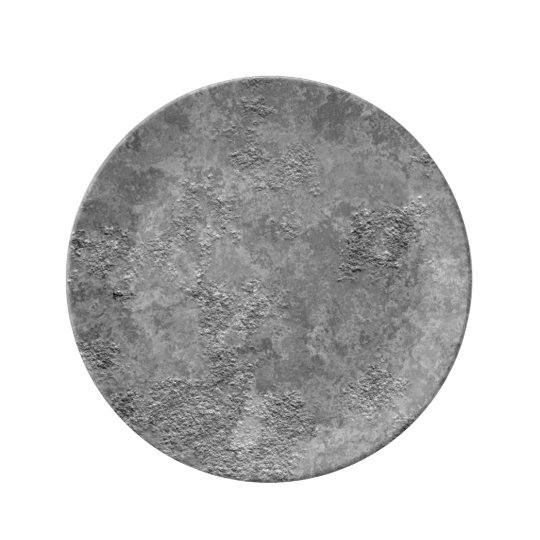 Grey Raw Concrete/Cement Mock-Texture Plate
