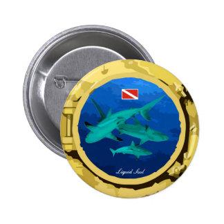 Grey Reef Shark - Boton Pin