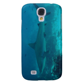 Grey Reef Shark Swimming Galaxy S4 Cases