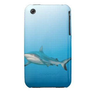 Grey reef sharks (Carcharhinus amblyrhnchos) iPhone 3 Case-Mate Cases