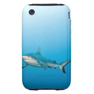 Grey reef sharks (Carcharhinus amblyrhnchos) Tough iPhone 3 Covers