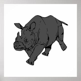 Grey Rhino Posters