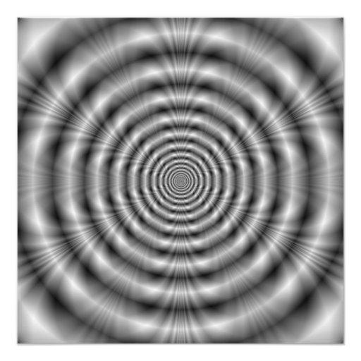 Grey Rings Photo Print
