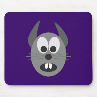 grey rodent grey gray rodent mouse pad