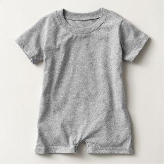 Grey Romper Quaker Baby Bodysuit