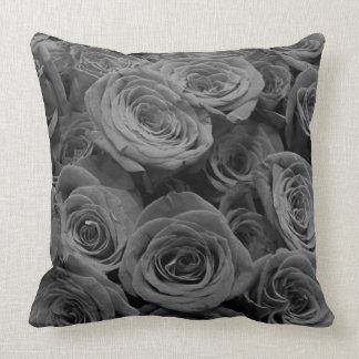 Grey Roses Cushion
