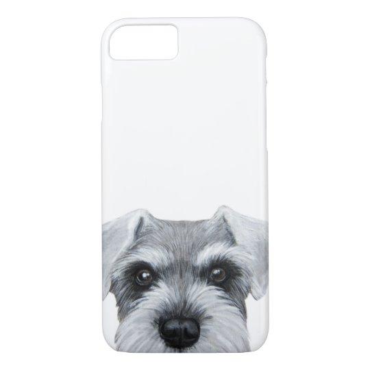 Grey Schnauzer phone case