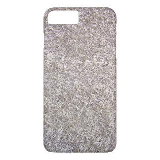 Grey Shag Carpet Texture Background iPhone 7 Plus Case