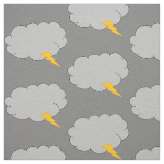 Grey sky fabric