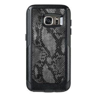 Grey Snake skin style Samsung Cases