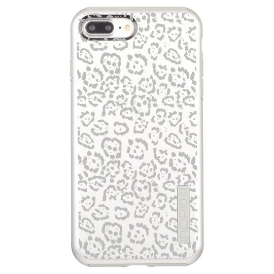 Grey Snow Leopard Cat Animal Print Incipio DualPro