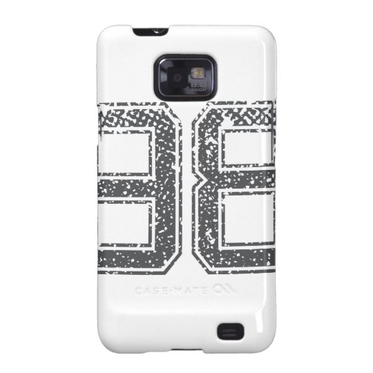 Grey Sports Jersey #98 Samsung Galaxy S2 Cover