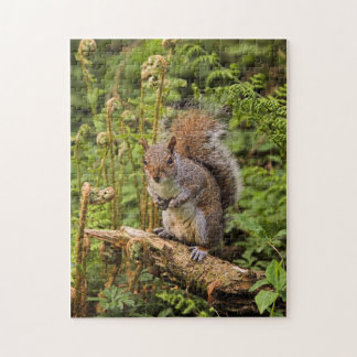 Grey Squirrel Puzzle/Jigsaw Jigsaw Puzzle