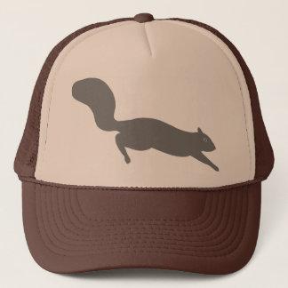 Grey Squirrel Trucker Hat
