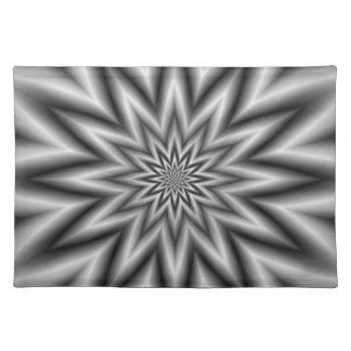 Grey Star Placemats