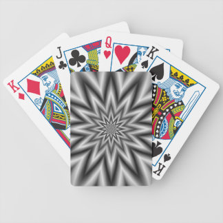 Grey Star Playing Cards