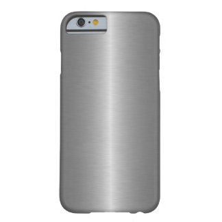 Grey Steel Barely There iPhone 6 Case
