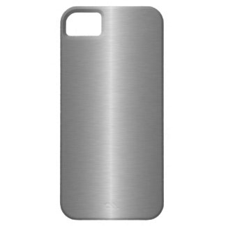 Grey Steel iPhone 5 Covers