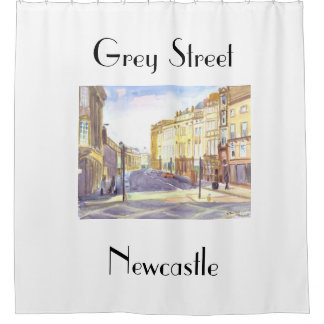 Grey Street,Newcastle Shower Curtain