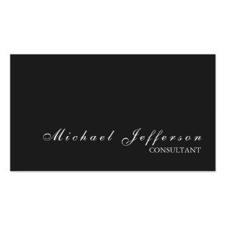 Grey Stylish Professional Modern Business Card