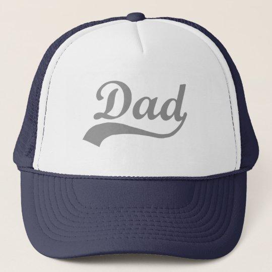 Grey Swash Dad Trucker Hat