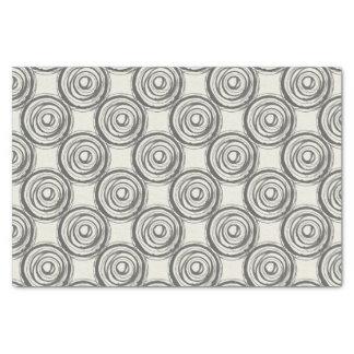 Grey Swirls Tissue Paper