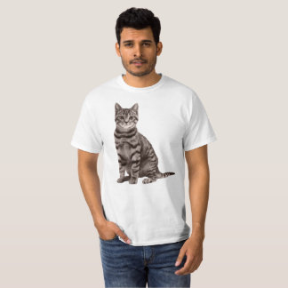 Grey Tabby Cat Shirt