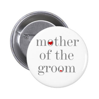 Grey Text  Mother of Groom Pins
