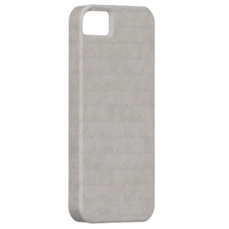 Grey Texture Barely There iPhone 5 Case