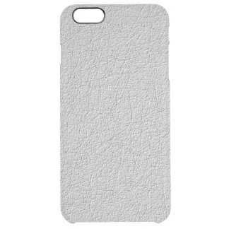 Grey texture clear iPhone 6 plus case