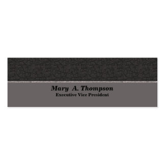 Grey Texture Pack Of Skinny Business Cards
