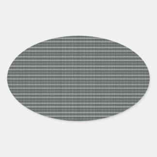 Grey Texture Template DIY add Text Image photo fun Oval Sticker