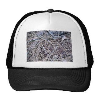 Grey themed underbrush hats