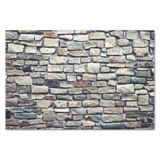 Grey tile wall tissue paper