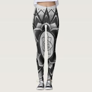grey tribal leggings